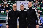 DESCRIZIONE : Eurocup Last 32 Group N Dinamo Banco di Sardegna Sassari - Galatasaray Odeabank Istanbul<br /> GIOCATORE : PEREZ PIZARRO, EMILIO (ESP), FRITZ, CLEMENS (GER), MICHAELIDES, MARKOS (SUI)<br /> CATEGORIA : Arbitro Referee<br /> SQUADRA : Arbitro Referee<br /> EVENTO : Eurocup 2015-2016 Last 32<br /> GARA : Dinamo Banco di Sardegna Sassari - Galatasaray Odeabank Istanbul<br /> DATA : 13/01/2016<br /> SPORT : Pallacanestro <br /> AUTORE : Agenzia Ciamillo-Castoria/L.Canu