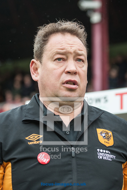 Hull City manager Leonid Slutsky during the Sky Bet Championship match at Oakwell, Barnsley<br /> Picture by Matt Wilkinson/Focus Images Ltd 07814 960751<br /> 21/10/2017