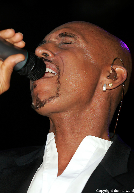 Montel Williams performs at his 50th birthday party at Pacha Wednesday, July 12, 2006 in New York.