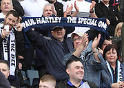 Paul Hartley the special one - Dundee v Dumbarton, SPFL Championship, Helicopter Saturday at Dens Park<br /> <br />  - &copy; David Young - www.davidyoungphoto.co.uk - email: davidyoungphoto@gmail.com