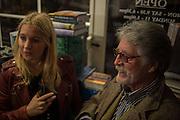 MARISSA MONTGOMERY, ; JUSTIN DE VILLENEUVE,  , Book launch for 'I Should Have Said' by Daisy de Villeneuve, John Sandoe Books, Blacklands Terrace. Chelsea, London. 10 March 2015.