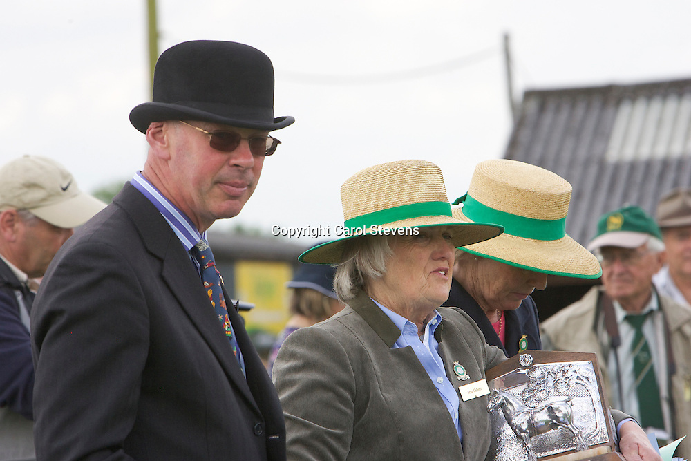 Mr Andrew Spalding and Mrs Jean Clavert