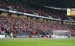 Over 5000 Bristol City fans wave scarves in the away end  - Photo mandatory by-line: Joe Meredith/JMP - Mobile: 07966 386802 - 07/02/2015 - SPORT - Football - Milton Keynes - Stadium MK - MK Dons v Bristol City - Sky Bet League One