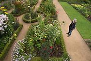 Bauerngarten im Botanischen Garten Hamburg.