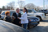 12/7/09 - 11:18:22 AM - FORTESCUE, NJ: Diana & Ken - December 7, 2009 - Fortescue, New Jersey. (Photo by William Thomas Cain/cainimages.com)