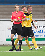 Jonny Smith celebrates after scoring - Cove Rangers v Dundee under 20s pre-seson friendly at Links Park, Montrose, Photo: David Young<br /> <br />  - &copy; David Young - www.davidyoungphoto.co.uk - email: davidyoungphoto@gmail.com