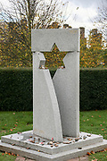 The Jewish Service Men and Women Memorial at the National Memorial Arboretum, Croxall Road, Alrewas, Burton-On-Trent,  Staffordshire, on 29 October 2018. Picture by Mick Haynes.
