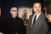 NEIL TENNANT, DAVID WALLIAMS, The George Michael Collection drinks.  Christie's, King St. London, 12 March 2019