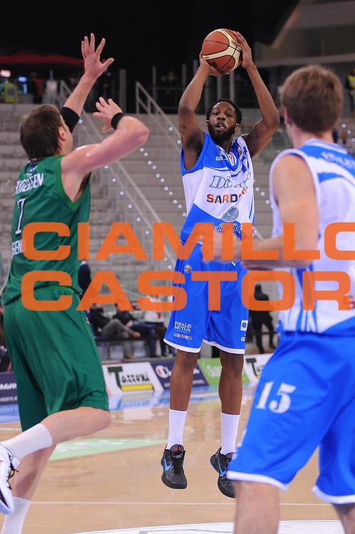 DESCRIZIONE : Torino Coppa Italia Final Eight 2012 Quarto Di Finale Montepaschi Siena Banco Di Sardegna Sassari<br /> GIOCATORE : Tony Easley<br /> CATEGORIA : tiro<br /> SQUADRA : Banco Di Sardegna Sassari<br /> EVENTO : Suisse Gas Basket Coppa Italia Final Eight 2012<br /> GARA : Montepaschi Siena Banco Di Sardegna Sassari<br /> DATA : 16/02/2012<br /> SPORT : Pallacanestro<br /> AUTORE : Agenzia Ciamillo-Castoria/M.Marchi<br /> Galleria : Final Eight Coppa Italia 2012<br /> Fotonotizia : Torino Coppa Italia Final Eight 2012 Quarto Di Finale Montepaschi Siena Banco Di Sardegna Sassari<br /> Predefinita :