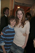 PATRICK HURD -WOOD AND RACHEL HURD-WOOD, PARTY AT DARTMOUTH HOUSE AFTER A PREMIERE SCREENING OF PERFUME AT THE CURZON. LONDON.<br />5 December 2006. ONE TIME USE ONLY - DO NOT ARCHIVE  © Copyright Photograph by Dafydd Jones 248 CLAPHAM PARK RD. LONDON SW90PZ.  Tel 020 7733 0108 www.dafjones.com