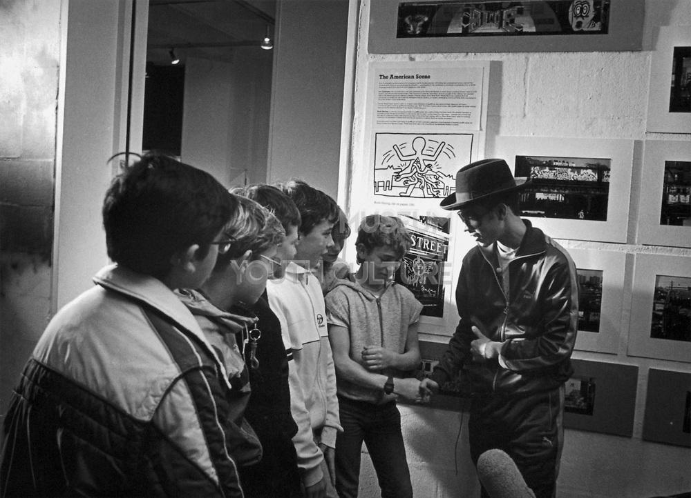 Brim and The Kids, Arnofini, Bristol, 1985