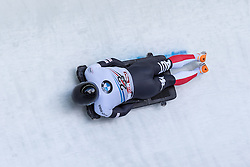 03.02.2017, Olympia Eisbahn, Igls, AUT, IBSF Weltcup, Igls, Skeleton, Herren, 1. Lauf, im Bild Stefan Geisler (AUT) // Stefan Geisler (AUT) in action during his first run of the men's Skeleton of BMW IBSF World Cup at the Olympia Eisbahn in Igls, Austria on 2017/02/03. EXPA Pictures © 2017, PhotoCredit: EXPA/ Stefan Adelsberger
