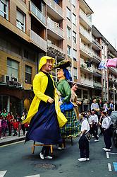 Santurtzi, Spain - Jaietan el Carmen 2011<br /> <br /> (c) Andrew Wilson   Edinburgh Elite media