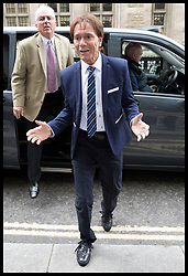 April 17, 2018 - London, United Kingdom - Sir Cliff Richard arriving at the High Court in London as his case against the BBC continues. (Credit Image: © Stephen Lock/i-Images via ZUMA Press)