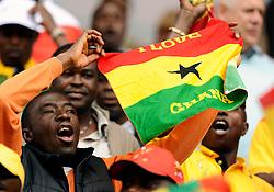 Ghana fans.