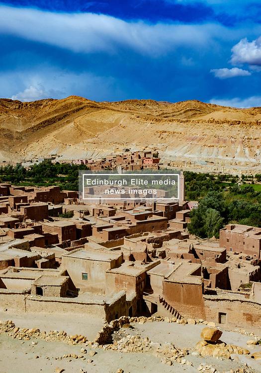 The mountain village of Assfalou near Ouarzazate, Morocco<br /> <br /> (c) Andrew Wilson   Edinburgh Elite media