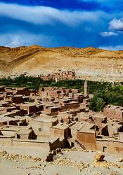 The mountain village of Assfalou near Ouarzazate, Morocco<br /> <br /> (c) Andrew Wilson | Edinburgh Elite media