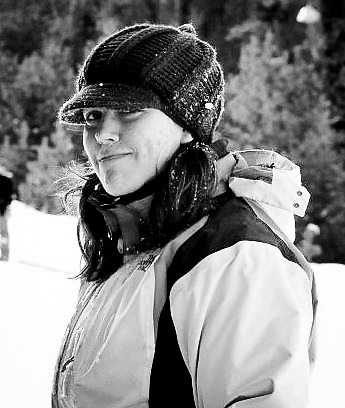 My friend took this as I was walking back up one of our favorite sledding spots in the Laramie Mountains. We had a huge group of sledders and mugs of hot chocolate that day!