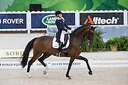 Jeanna Hogberg - Darcia VH<br /> Alltech FEI World Equestrian Games™ 2014 - Normandy, France.<br /> © DigiShots