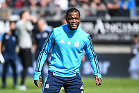 Patrice Evra of Marseille during the Ligue 1 match between Amiens SC and Olympique Marseille at Stade de la Licorne on September 17, 2017 in Amiens, . (Photo by Anthony Dibon/Icon Sport)