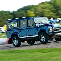 2007 Land Rover Defender 110, The 2009 World's Fastest Land Rover competition, Bruntingthorpe test track