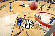 NASHVILLE, TN - FEBRUARY 11: Michael Kidd-Gilchrist #14 of the Kentucky Wildcats fights for position against Brad Tinsley #1 of the Vanderbilt Commodores at Memorial Gymnasium on February 11, 2012 in Nashville, Tennessee. Kentucky won 69-63. (Photo by Joe Robbins/Getty Images) *** Local Caption *** Michael Kidd-Gilchrist;Brad Tinsley