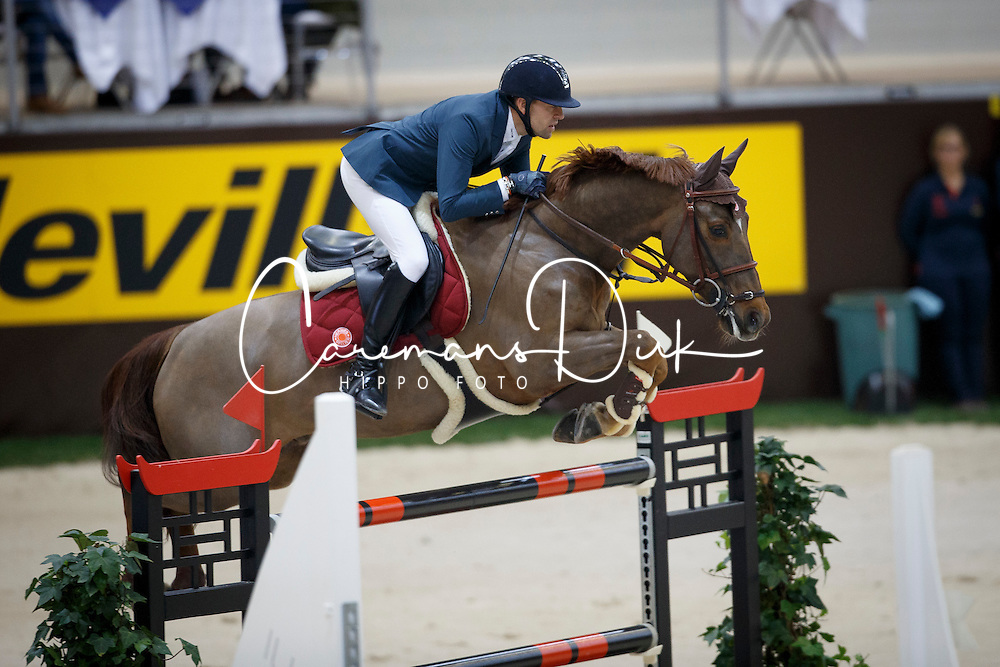 Delestre Simon, (FRA), Ryan Des Hayettes <br /> Final Top 10 Rolex IJRC<br /> Genève 2015<br /> © Hippo Foto - Dirk Caremans<br /> 11/12/15