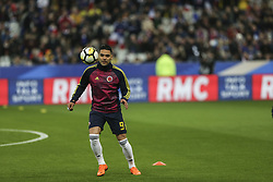 March 23, 2018 - Saint-Denis, Ile-de-France, France - Radamel Falcao, during the friendly football match between France and Colombia at the Stade de France, in Saint-Denis, on the outskirts of Paris, on March 23, 2018. (Credit Image: © Elyxandro Cegarra/NurPhoto via ZUMA Press)