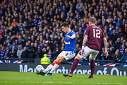 Ryan Jack of Rangers FC during the Betfred Scottish League Cup semi-final match between Rangers and Heart of Midlothian at Hampden Park, Glasgow, United Kingdom on 3 November 2019.