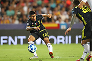 Joao Cancelo of Juventus FC during the UEFA Champions League, Group H football match between Valencia CF and Juventus FC on September 19, 2018 at Mestalla stadium in Valencia, Spain - Photo Manuel Blondeau / AOP Press / ProSportsImages / DPPI