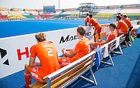 LUCKNOW (India) -   Junior World Cup hockey  U21 for men . NETHERLANDS v ENGLAND (7/8 place).   Bank NederlandCOPYRIGHT  KOEN SUYK