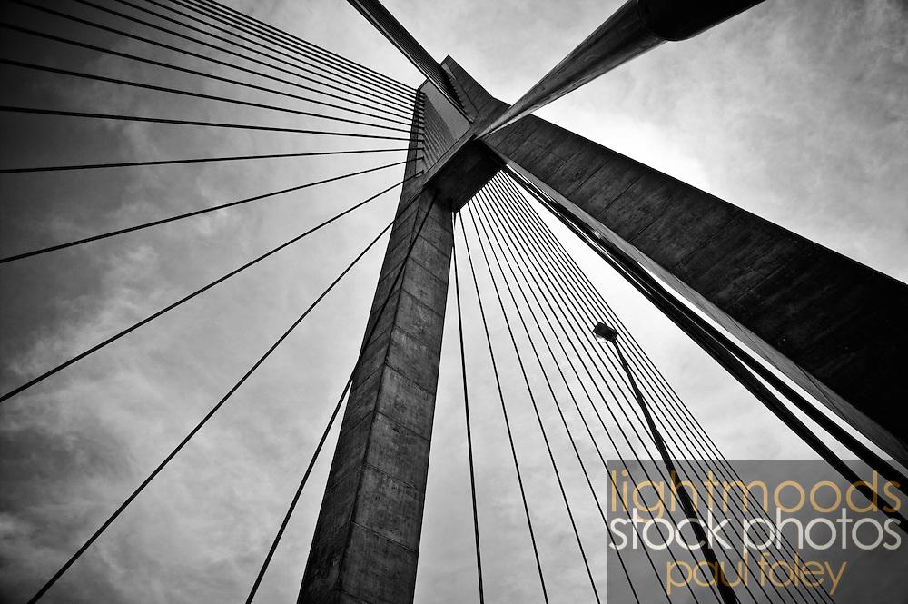 Anzac Bridge Detail, Sydney, Australia