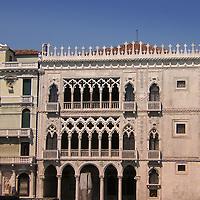 Exterior view of Venetian building