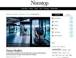 Gulfstream Nonstop magazine; Driverless cars Masdar