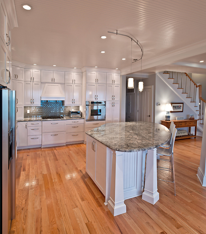 Oct. 1, 2012; Kitchen by Belzowski Homes..Photo by Matt Cashore