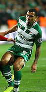 Anton Ferdinand first game for Bursaspor, Turkey
