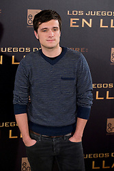 Josh Hutcherson during The Hunger Games: Catching Fire' Madrid Photocall,  Wednesday, 13th November 2013. Picture by Oscar Gonzalez / i-Images<br /> SPAIN OUT
