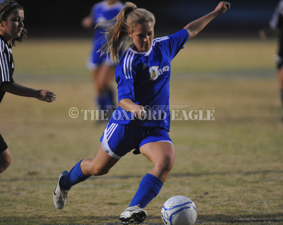 Oxford High vs. Pontotoc in girls high school soccer in Oxford, Miss. on Monday, November 14, 2011..