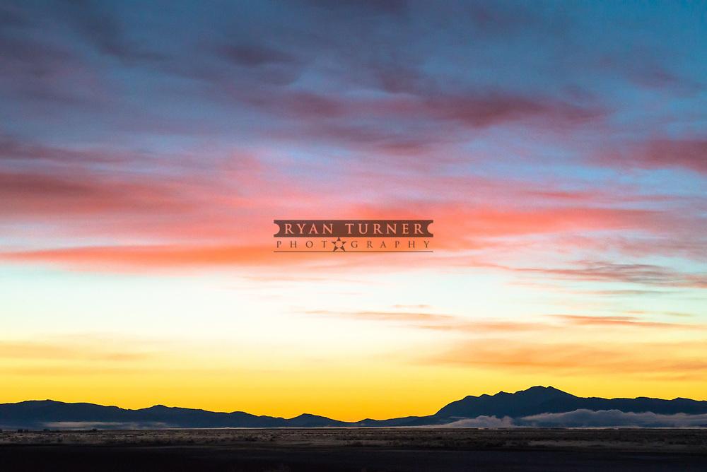A Southwest Montana sunset. Limited Edition - 25