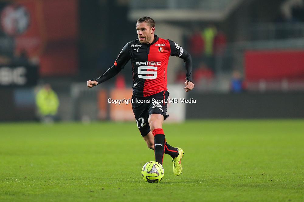 Sylvain ARMAND - 06.12.2014 - Rennes / Montpellier - 17eme journee de Ligue 1 -<br />Photo : Vincent Michel / Icon Sport