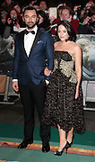 Dec 1, 2014 - The Hobbit: The Battle Of The Five Armies -World Premiere - Red Carpet arrivals at Odeon,  Leicester Square, London<br /> <br /> Pictured: Aidan Turner<br /> ©Exclusivepix Media