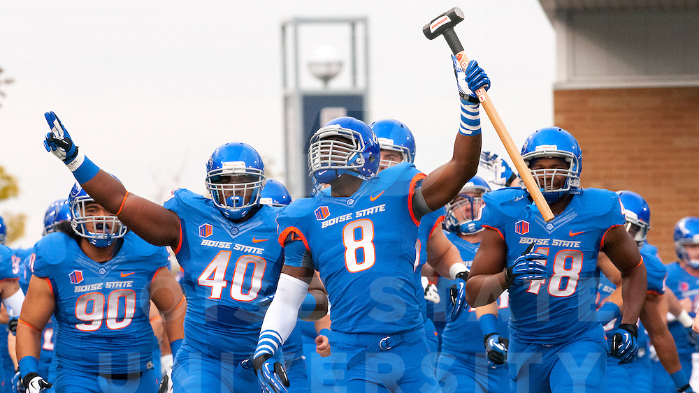 Boise State Football vs. Utah State, John Kelly photo