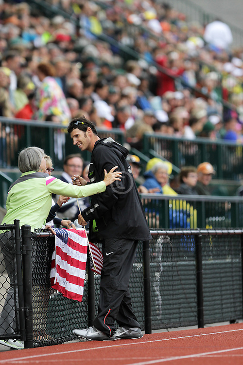 Olympic Trials Eugene 2012: Lance Brooks, winner, Discus