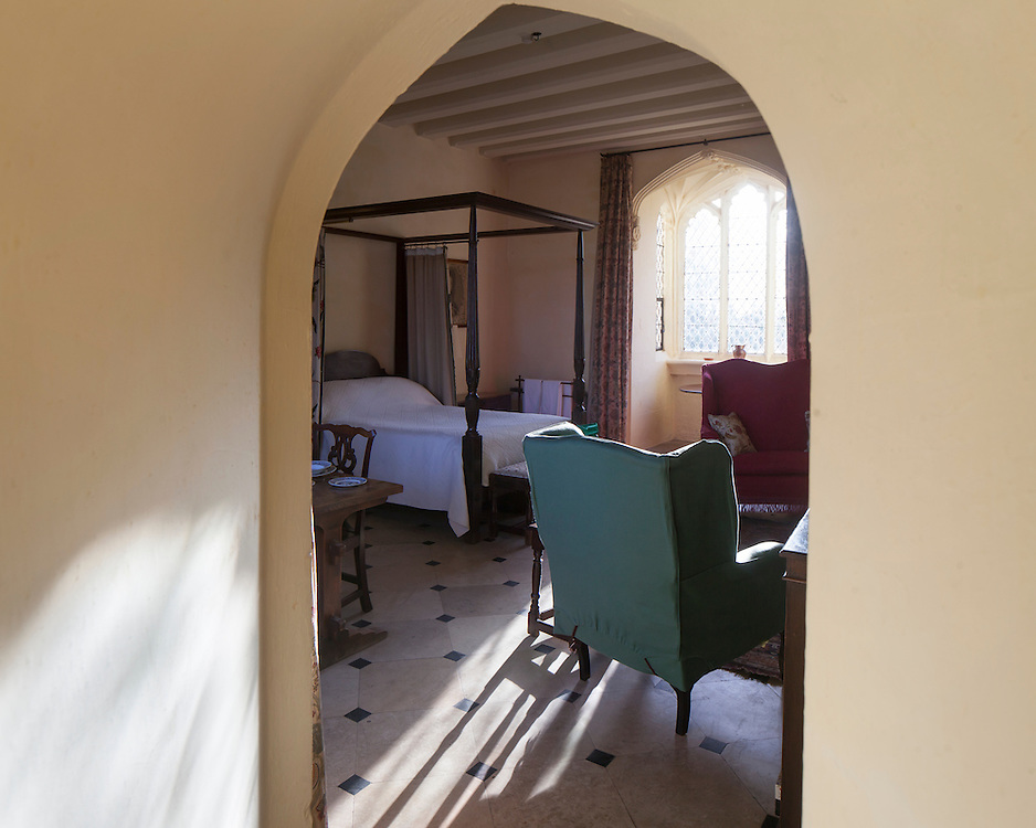 Interior to Cawood Castle cared for by the Landmark Trust