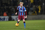 Luke Williams of Scunthorpe United  during the Sky Bet League 1 match between Scunthorpe United and Sheffield Utd at Glanford Park, Scunthorpe, England on 19 December 2015. Photo by Ian Lyall.