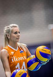 24-08-2017 NED: World Qualifications Netherlands - Czech Republic, Rotterdam<br /> Laura Dijkema #14 of Netherlands