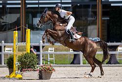 Zwartjens Meike, NED, Twister de la Pomme<br /> Nederlands Kampioenschap Springen<br /> De Peelbergen - Kronenberg 2020<br /> © Hippo Foto - Dirk Caremans<br />  06/08/2020