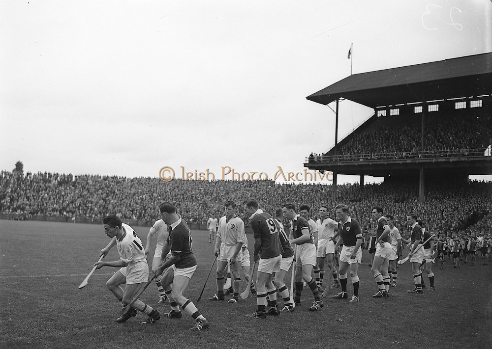 1957...Ireland Senior Hurling Championship - Semi-Final..Waterford.04-12..Galway.00-11....