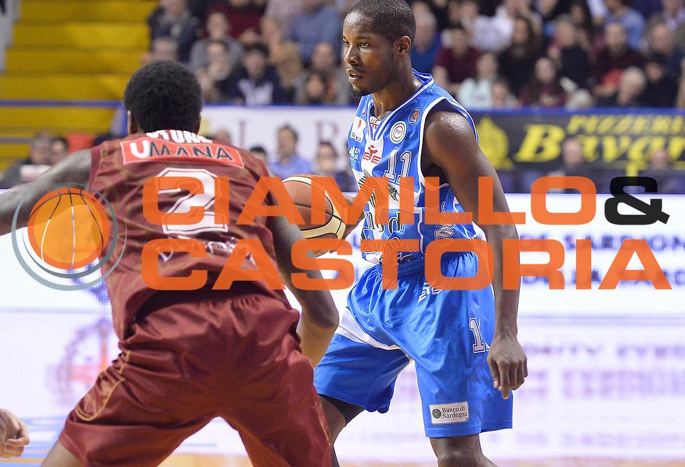DESCRIZIONE : Venezia Lega A 2014-15 Umana Reyer Venezia Banco di Sardegna Sassari<br /> GIOCATORE : Jerome Dyson<br /> CATEGORIA : palleggio<br /> SQUADRA : Banco di Sardegna Dinamo Sassari<br /> EVENTO : Campionato Lega A 2014-2015<br /> GARA : Umana Reyer Venezia Banco di Sardegna Sassari<br /> DATA : 04/01/2015<br /> SPORT : Pallacanestro <br /> AUTORE : Agenzia Ciamillo-Castoria/R.Morgano<br /> Galleria : Lega Basket A 2014-2015 <br /> Fotonotizia : Venezia Lega A 2014-15 Umana Reyer Venezia Banco di Sardegna Sassari
