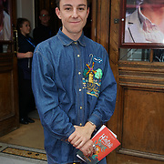 London, England, UK. 27th July 2017. Justin Nardella is a designer attends the opening day The Hunting of the Snark at Vaudeville Theatre, The Strand.